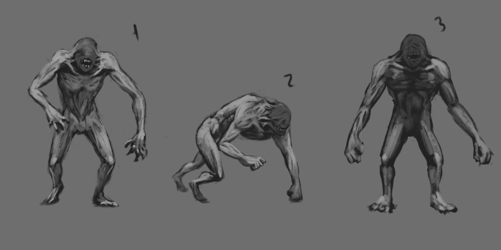 Beast Sketch 01