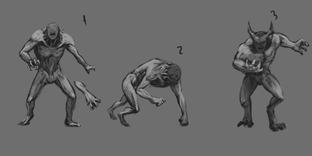 Beast Sketch 02