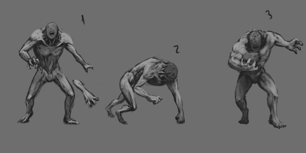 Beast Sketch 03