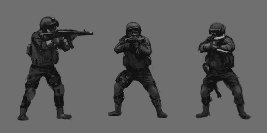 CQB Sketch 01