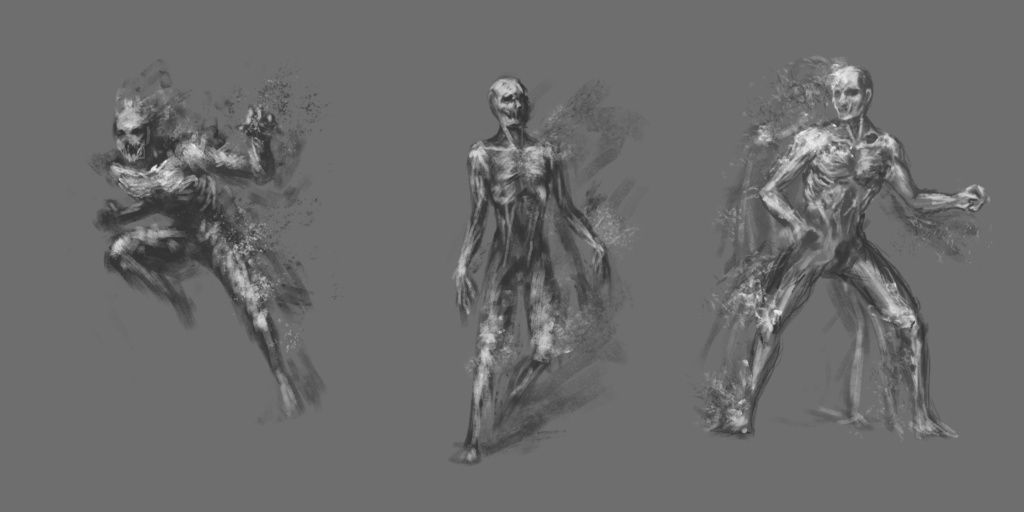 Wraith Sketches