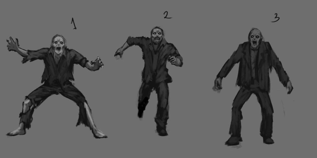 Zombie Sketch 01