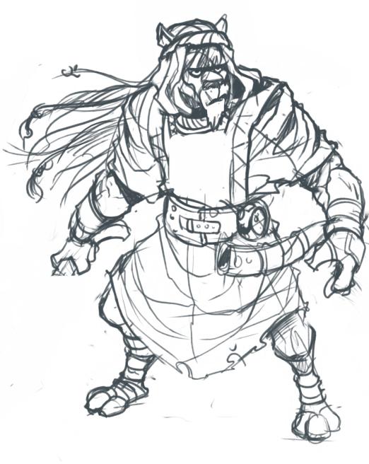 Katar Guard Sketch