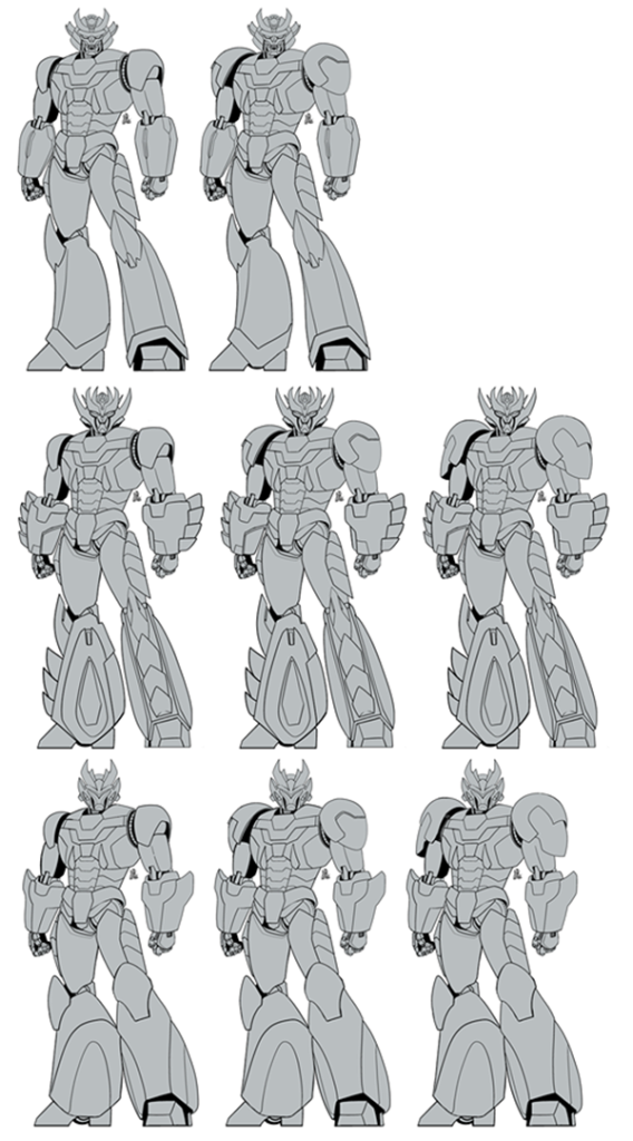 Super Robot variations