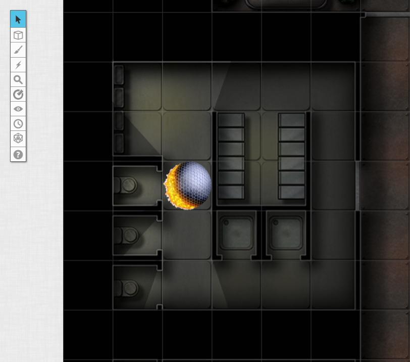 Lab Stalls Map Lighting