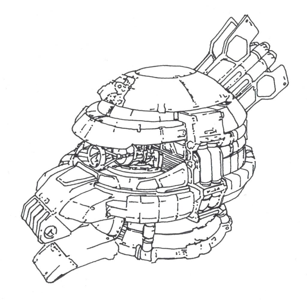MS 14 Gelgoog Head