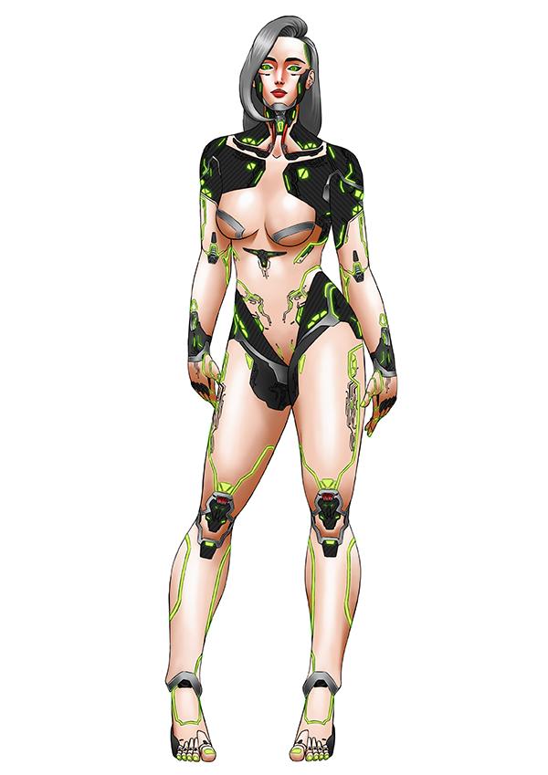Kopek female form AI Humanoid Robot
