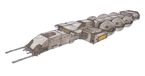 Mining Operations Vessel